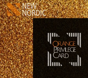 New Nordic Club – Orange Privilege Card