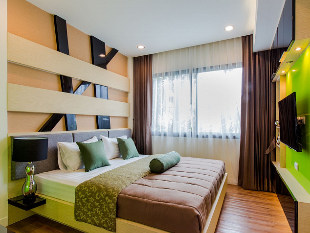 Dusit Grand Park Condominium - Райский парк